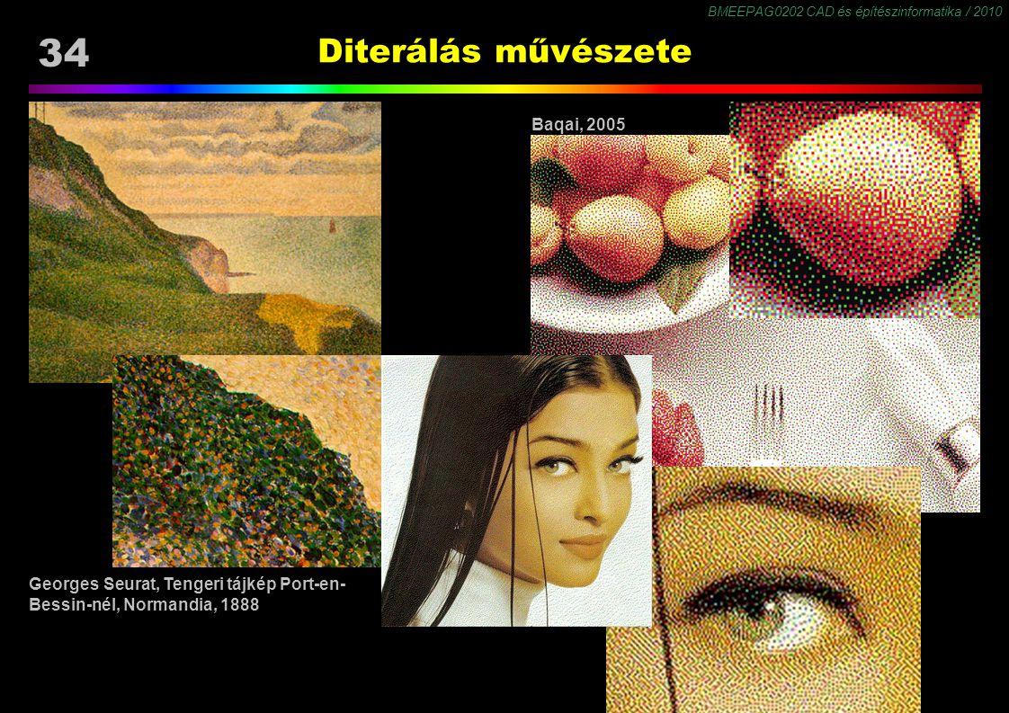 Diterálás művészete Baqai, 2005