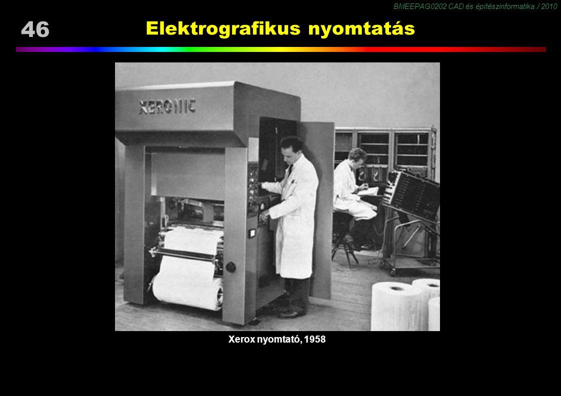 Elektrografikus nyomtatás