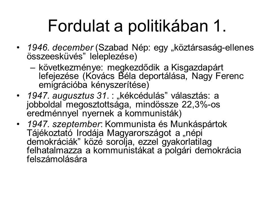 Fordulat a politikában 1.
