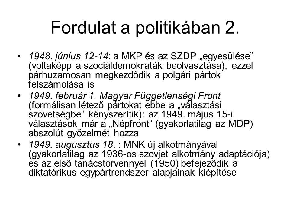 Fordulat a politikában 2.