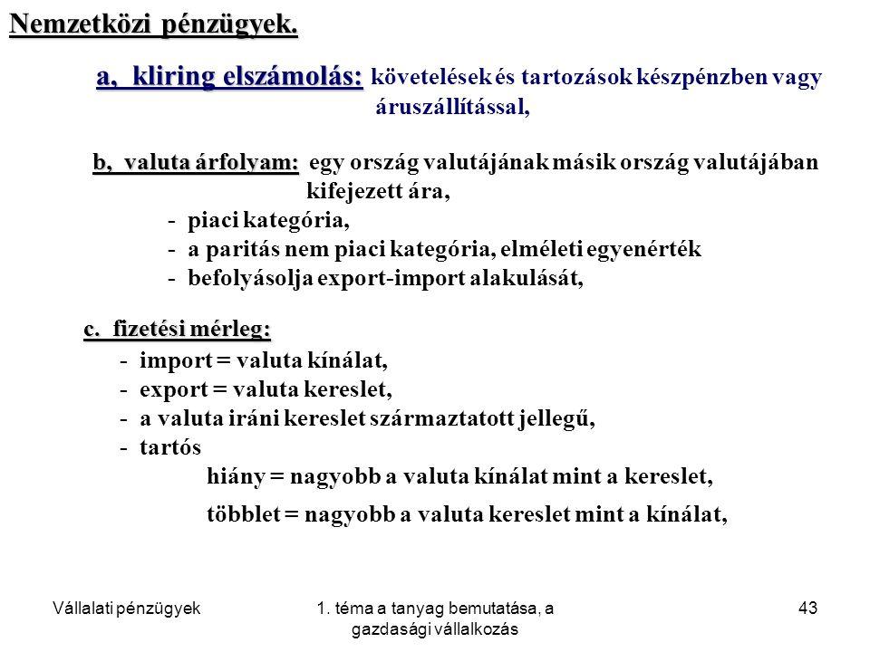 1. téma a tanyag bemutatása, a gazdasági vállalkozás