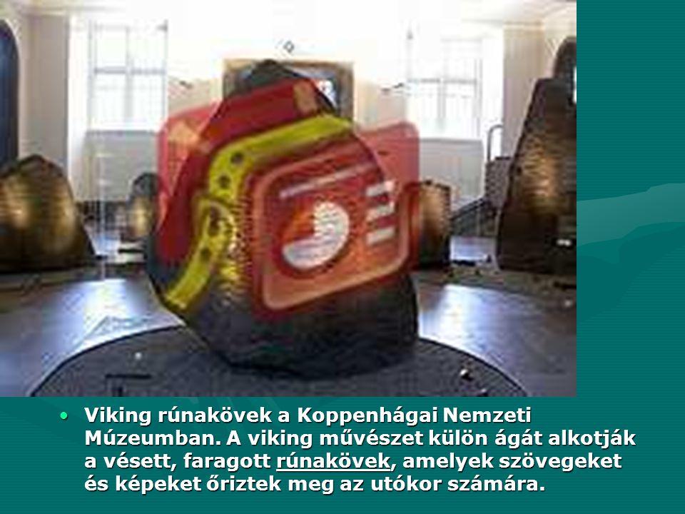 Viking rúnakövek a Koppenhágai Nemzeti Múzeumban