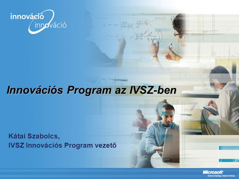 Innovációs Program az IVSZ-ben