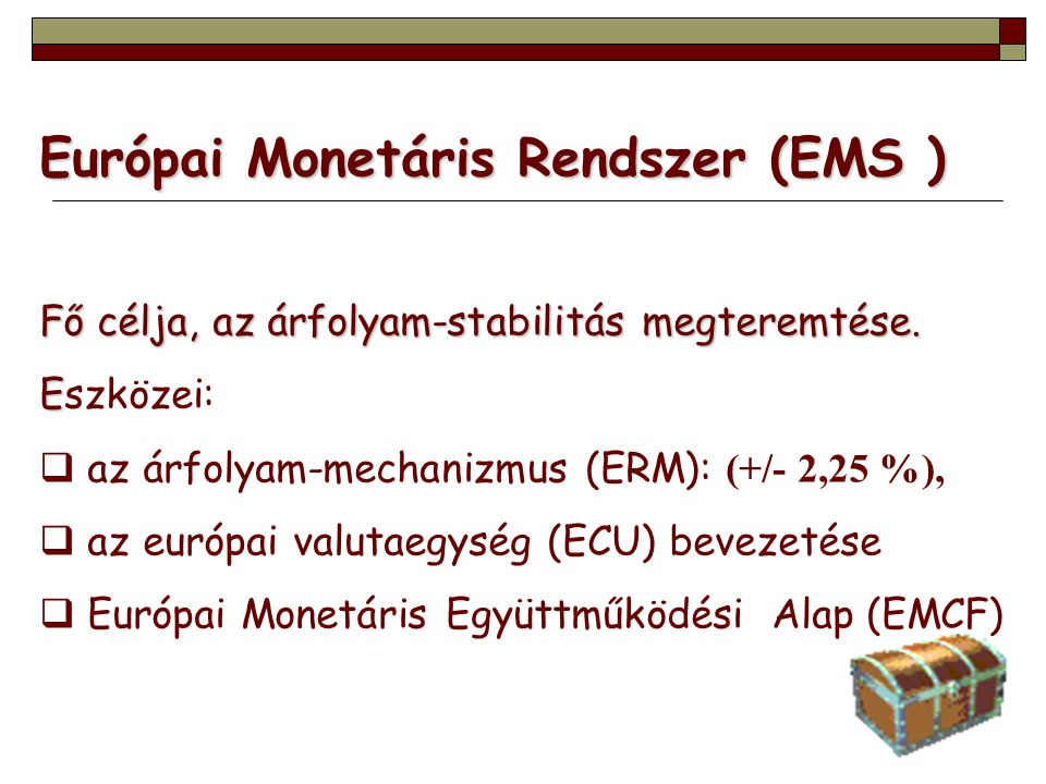 Európai Monetáris Rendszer (EMS )