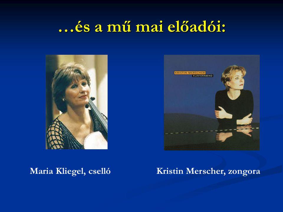 Kristin Merscher, zongora