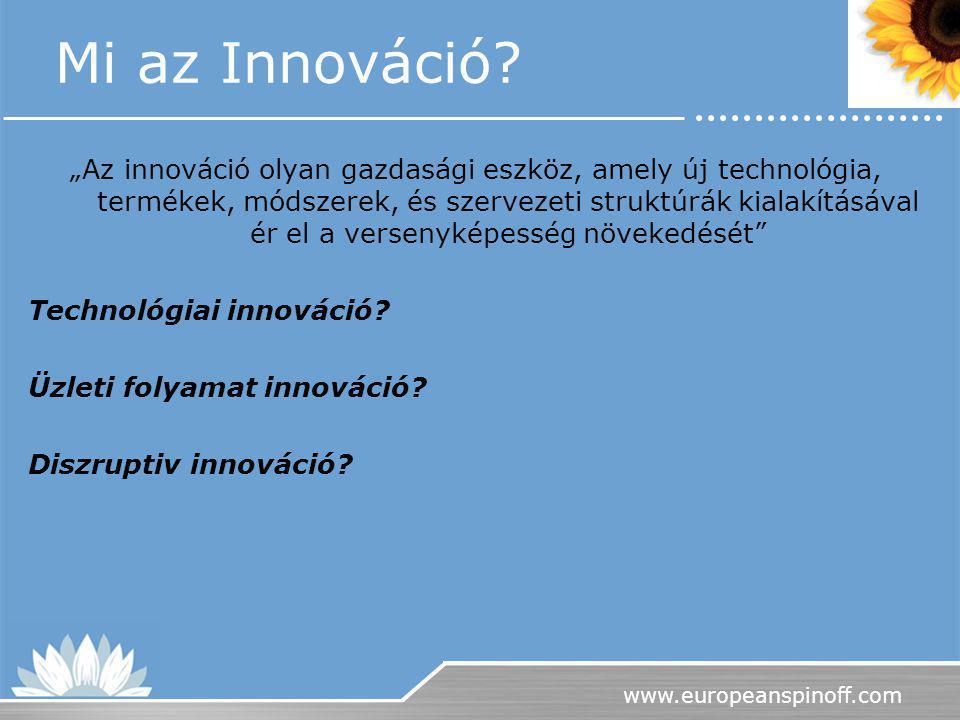 Mi az Innováció