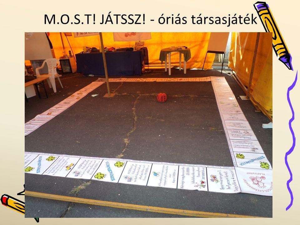 M.O.S.T! JÁTSSZ! - óriás társasjáték