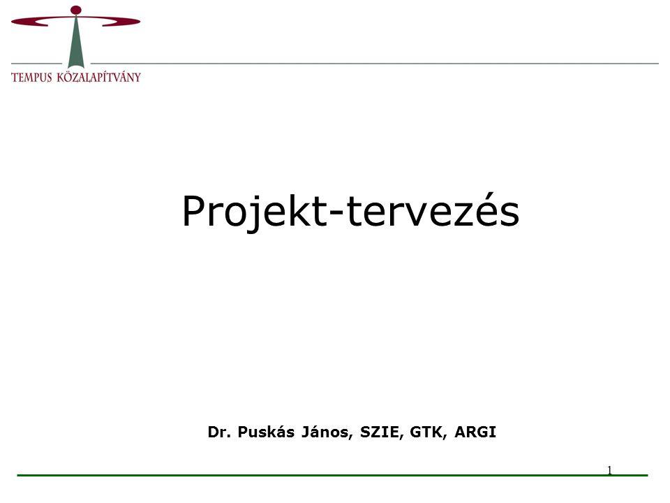 Dr. Puskás János, SZIE, GTK, ARGI