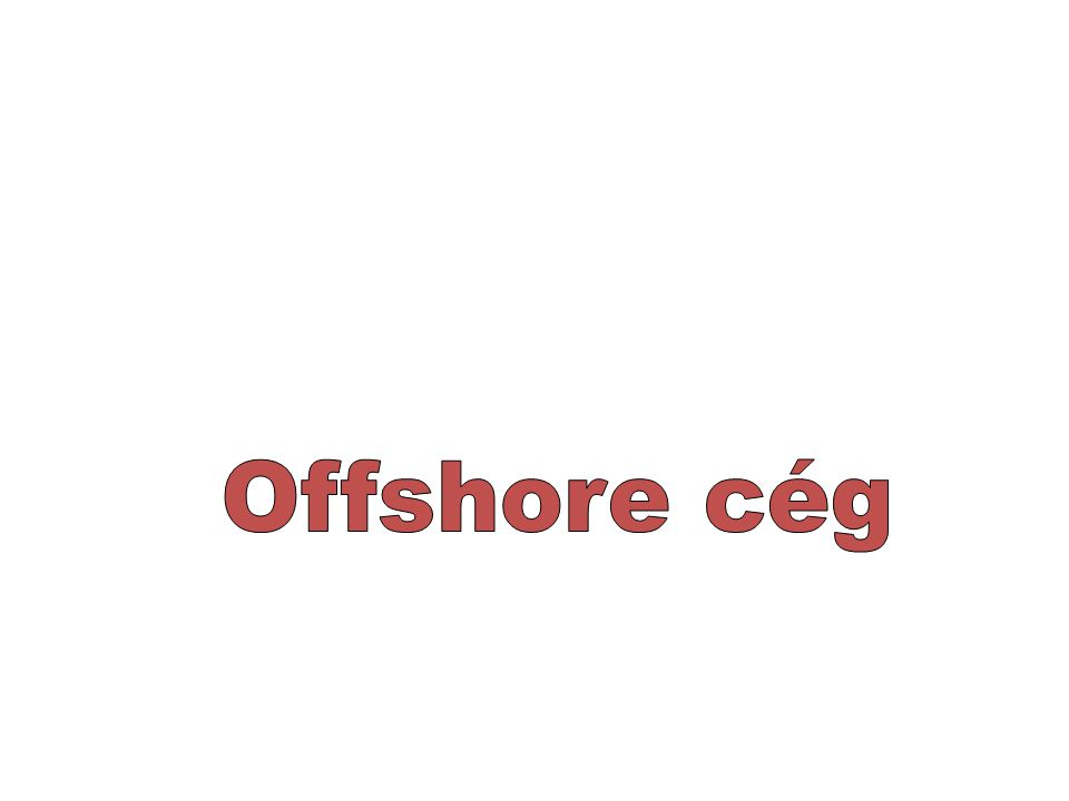 Offshore cég