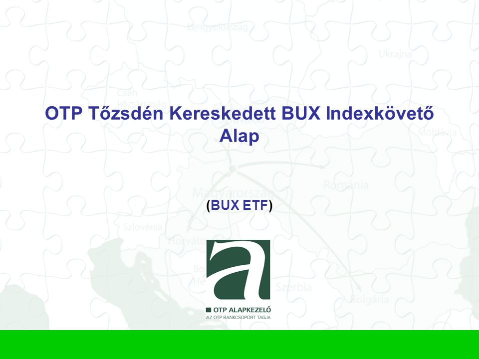 OTP Tőzsdén Kereskedett BUX Indexkövető Alap