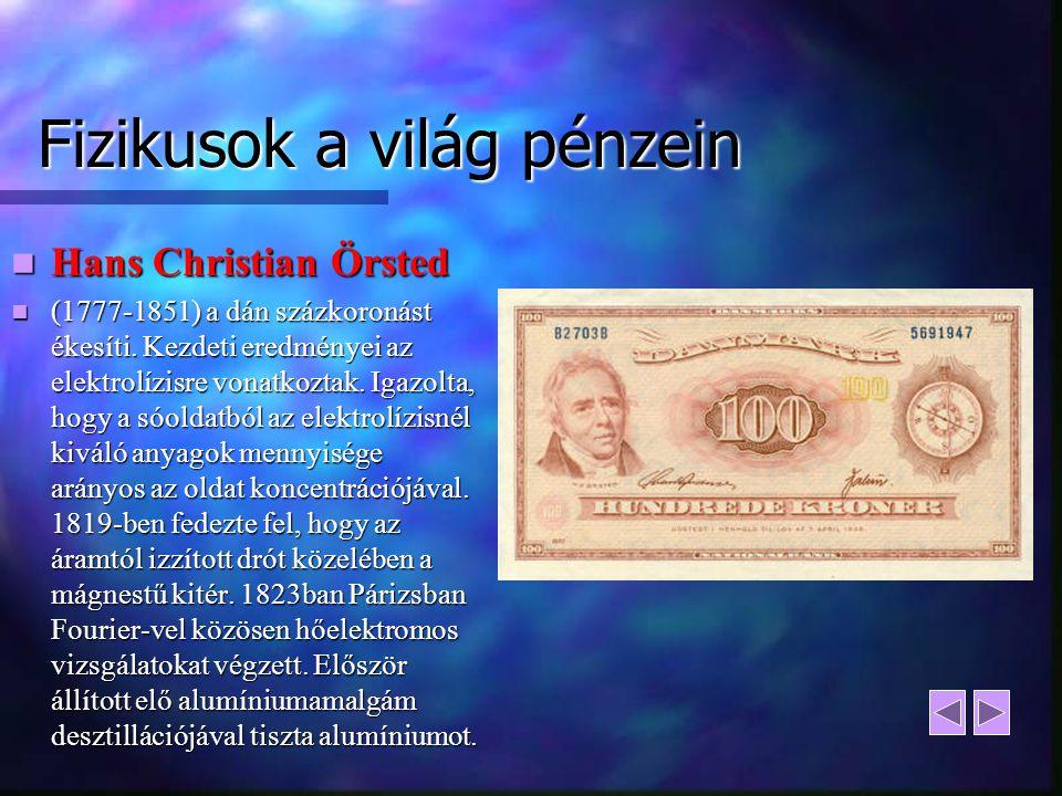 Fizikusok a világ pénzein