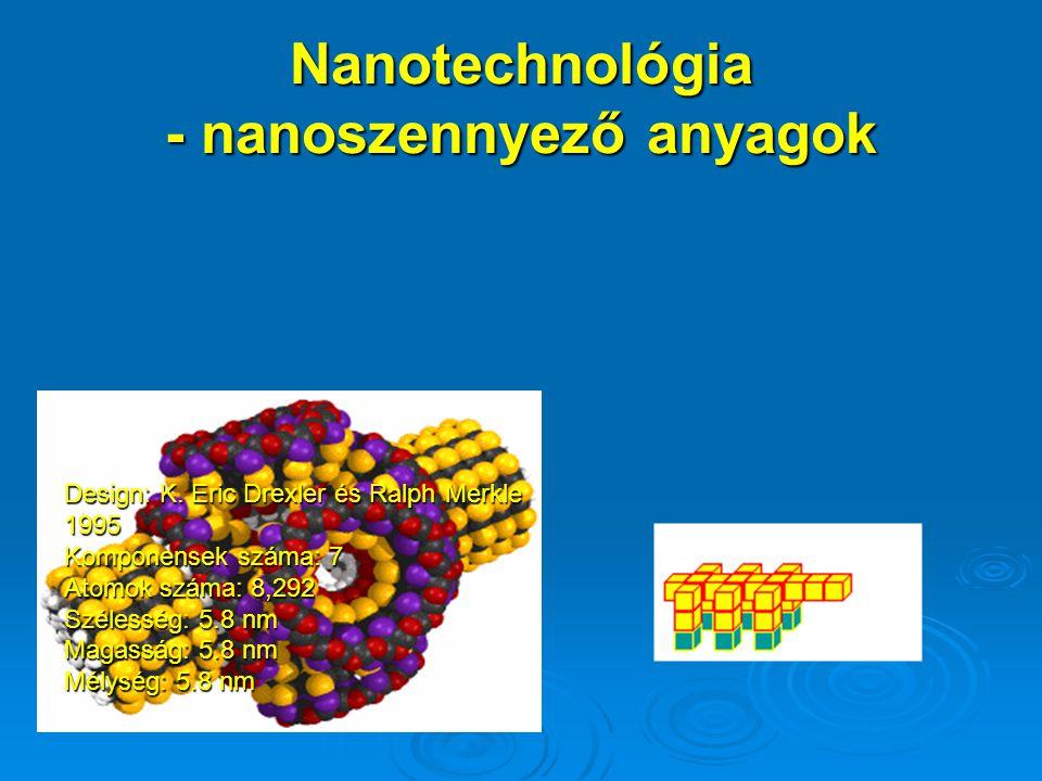 Nanotechnológia - nanoszennyező anyagok