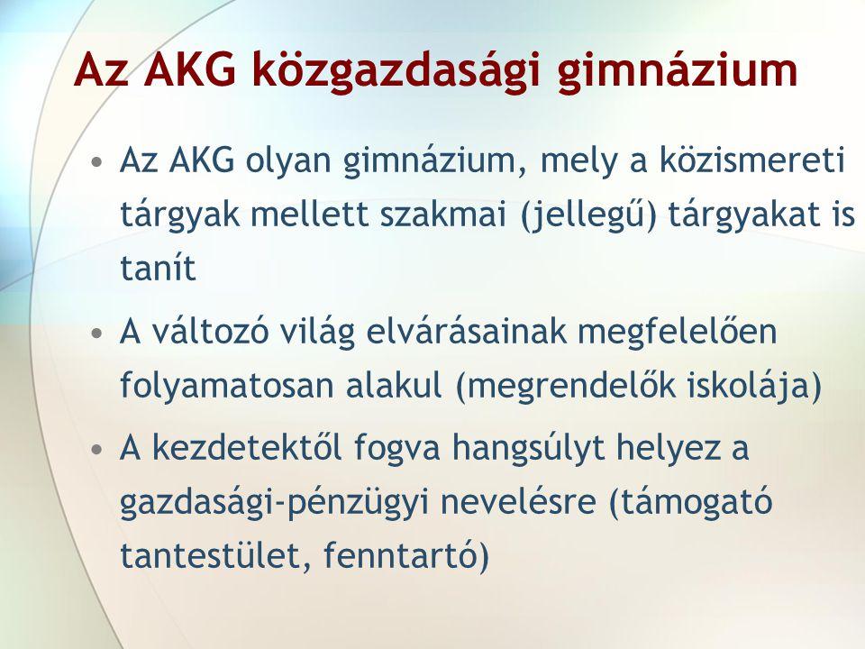 Az AKG közgazdasági gimnázium