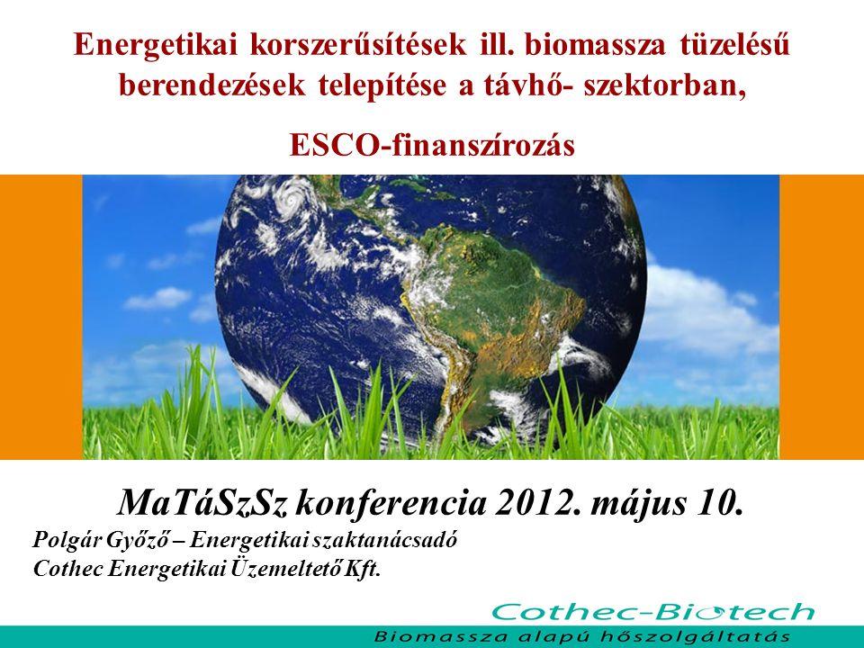 MaTáSzSz konferencia 2012. május 10.