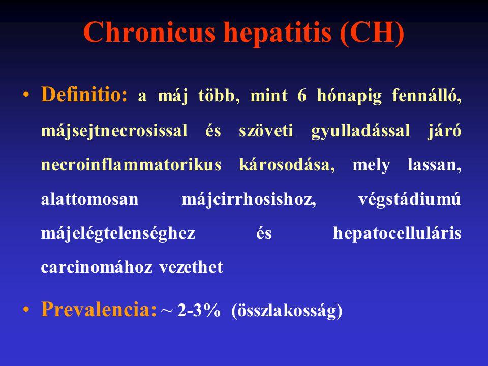 Chronicus hepatitis (CH)