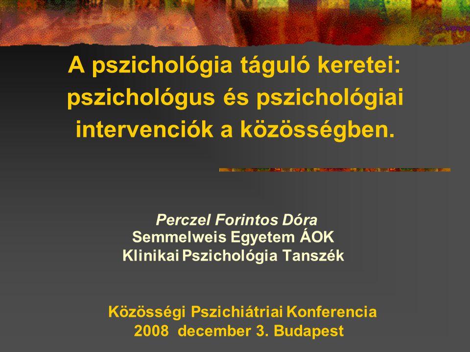 Perczel Forintos Dóra Semmelweis Egyetem ÁOK