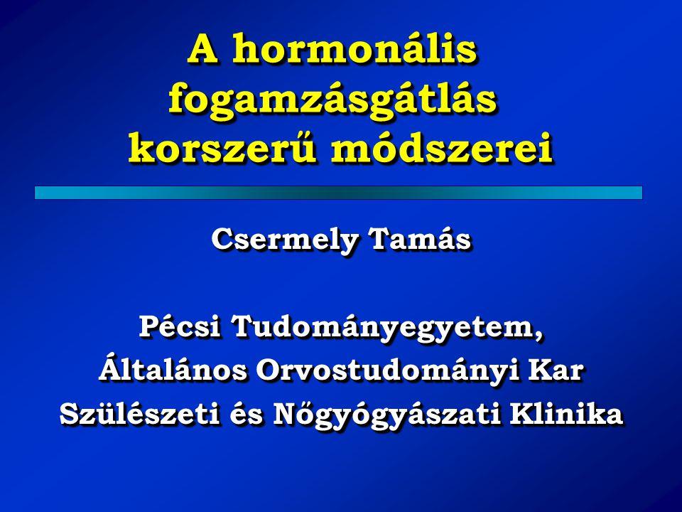 A hormonális fogamzásgátlás korszerű módszerei