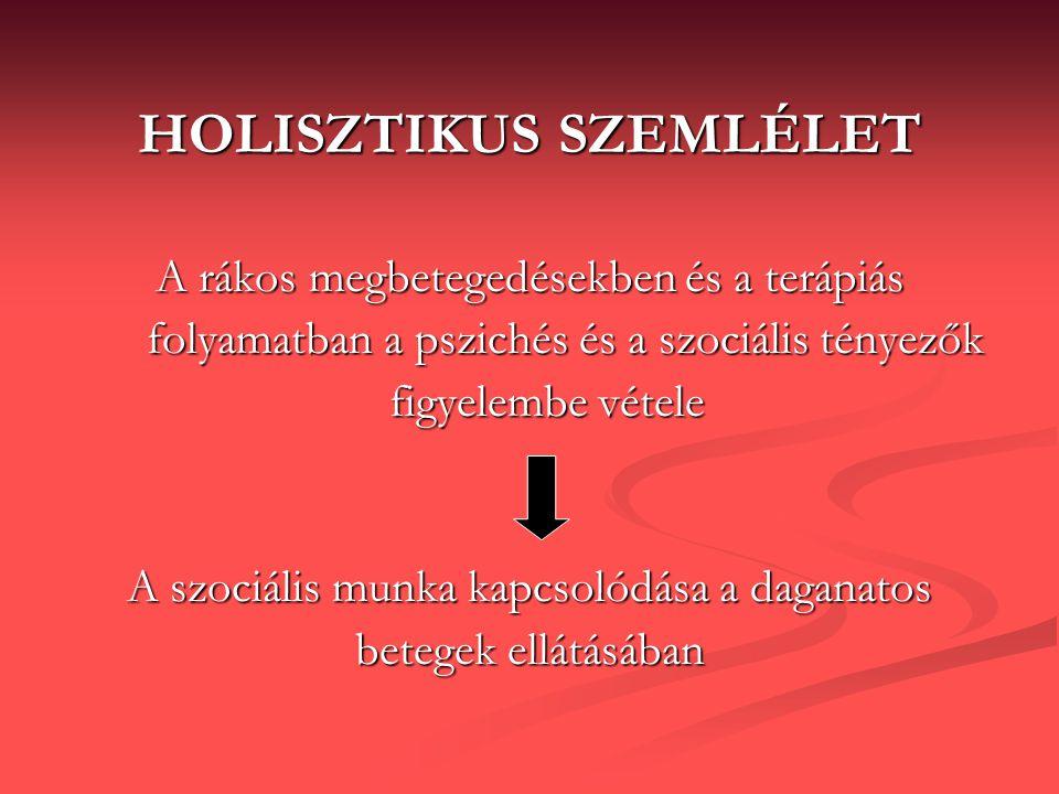 HOLISZTIKUS SZEMLÉLET