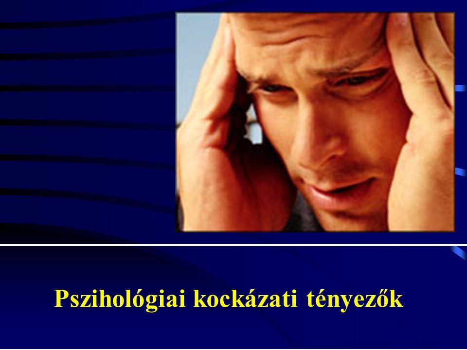 Pszihológiai kockázati tényezők