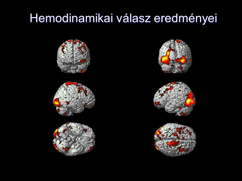 Hemodinamikai válasz eredményei