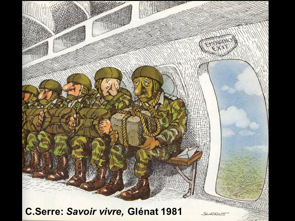 C.Serre: Savoir vivre, Glénat 1981