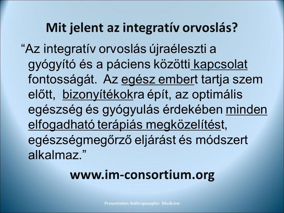 Mit jelent az integratív orvoslás