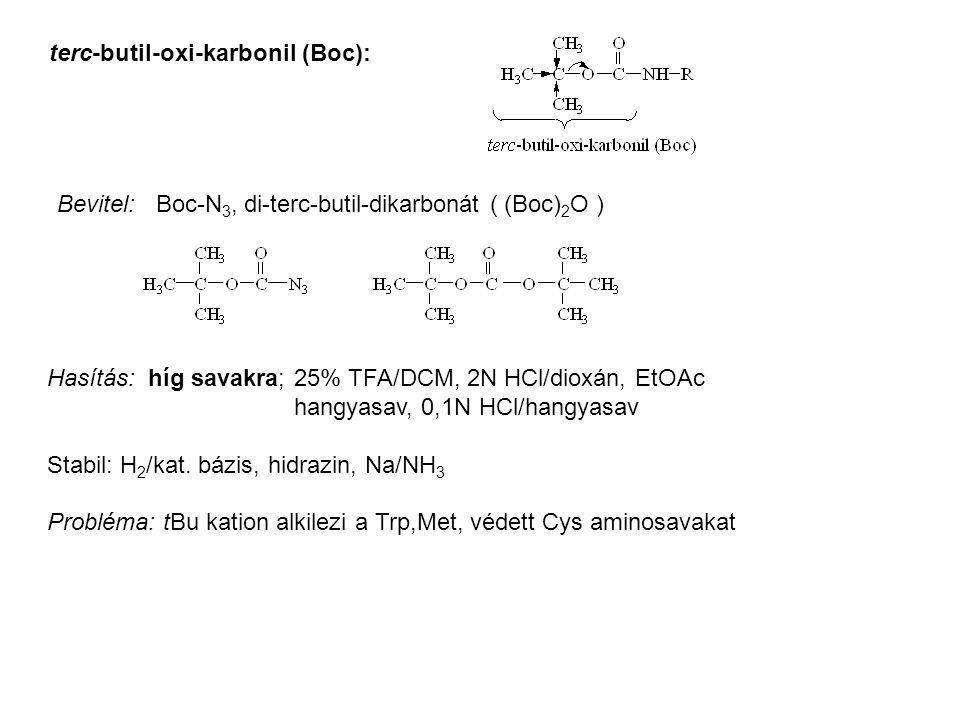 terc-butil-oxi-karbonil (Boc):
