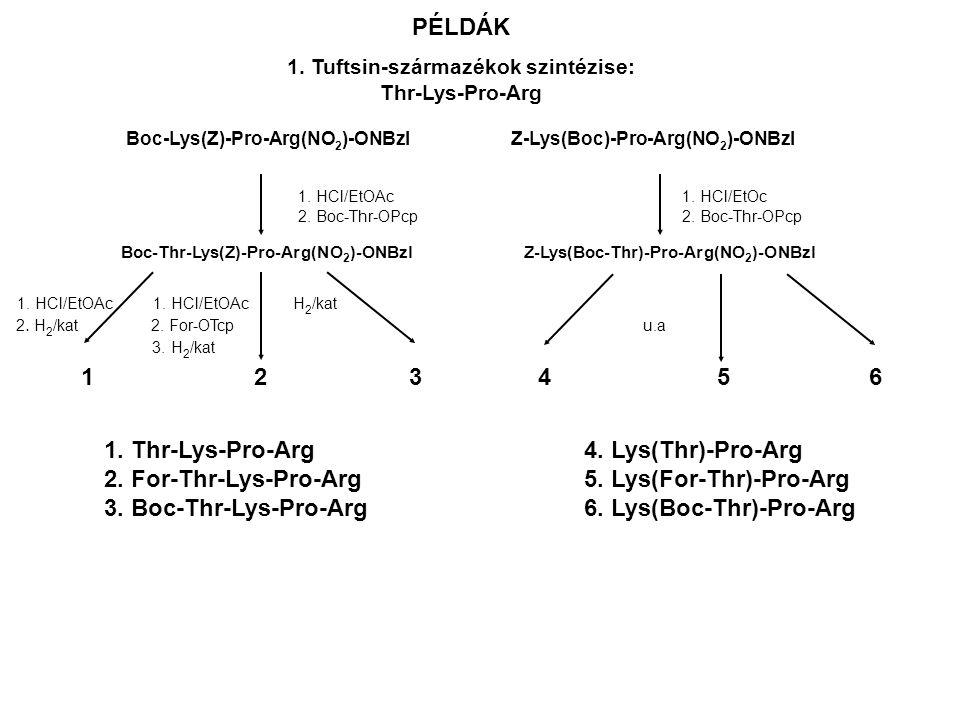 Boc-Lys(Z)-Pro-Arg(NO2)-ONBzl Z-Lys(Boc)-Pro-Arg(NO2)-ONBzl