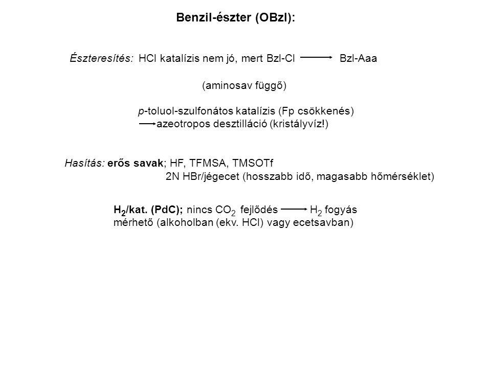Benzil-észter (OBzl):