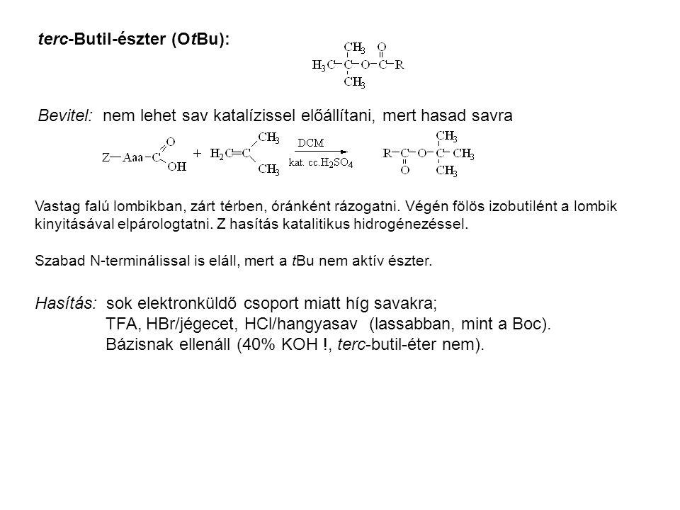 terc-Butil-észter (OtBu):
