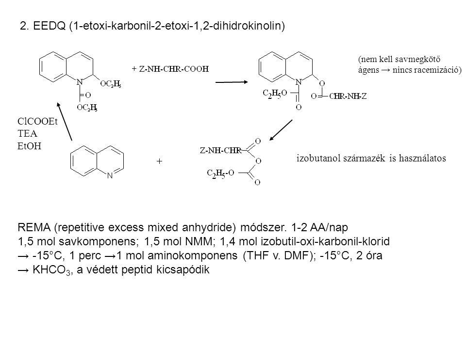 2. EEDQ (1-etoxi-karbonil-2-etoxi-1,2-dihidrokinolin)