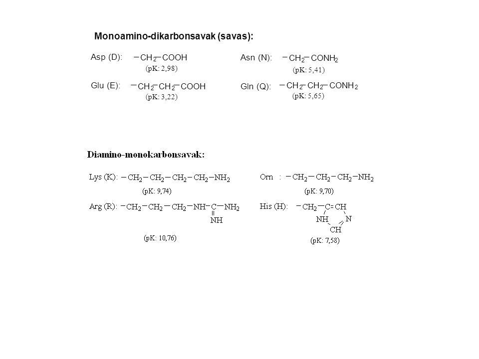 Monoamino-dikarbonsavak (savas):