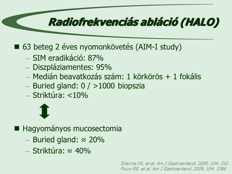 Radiofrekvenciás abláció (HALO)