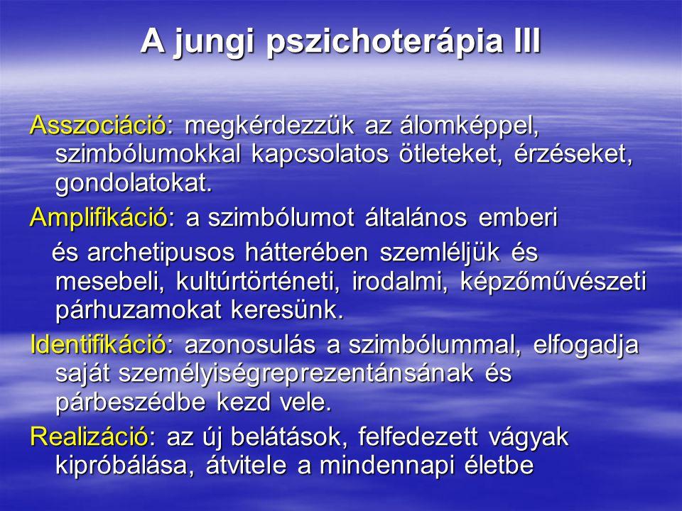 A jungi pszichoterápia III