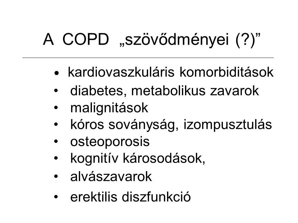 """A COPD """"szövődményei ( )"""