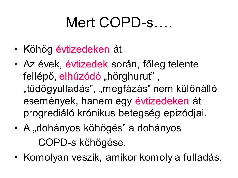 Mert COPD-s…. Köhög évtizedeken át