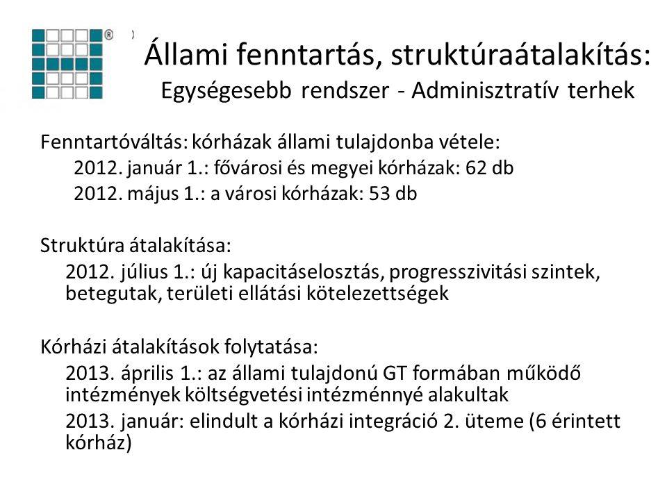Állami fenntartás, struktúraátalakítás: Egységesebb rendszer - Adminisztratív terhek