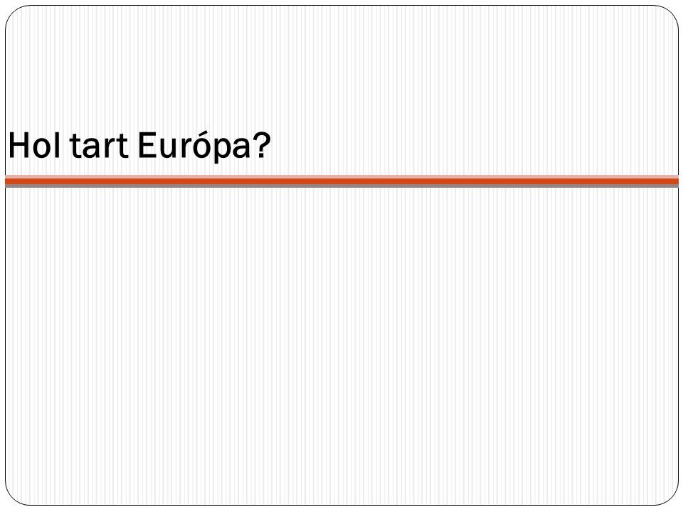 Hol tart Európa