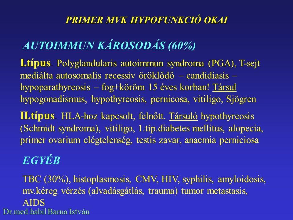 PRIMER MVK HYPOFUNKCIÓ OKAI