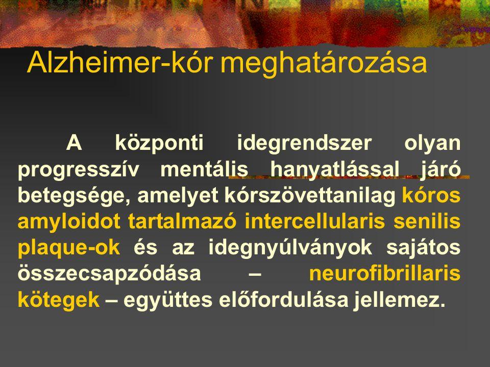 Alzheimer-kór meghatározása