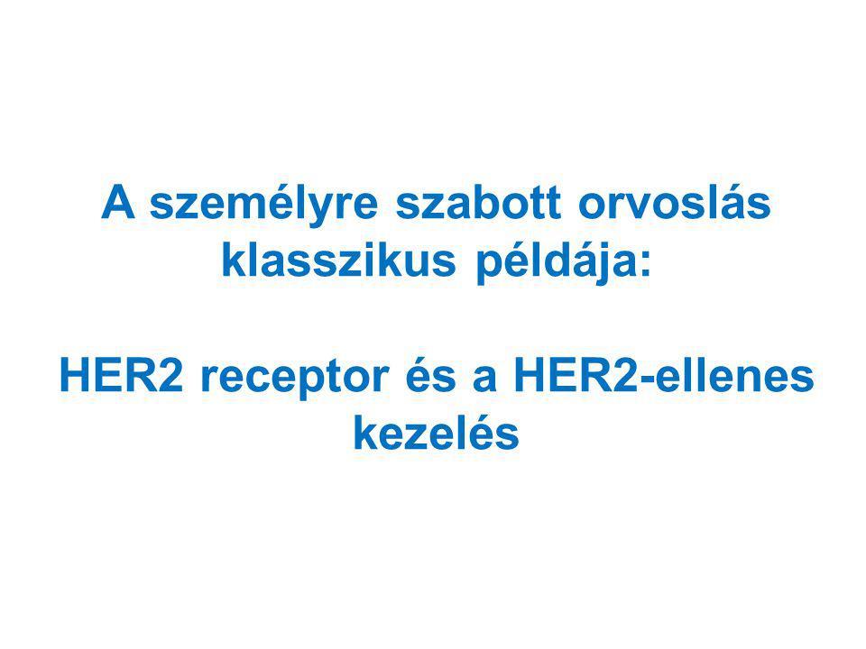 A személyre szabott orvoslás klasszikus példája: HER2 receptor és a HER2-ellenes kezelés