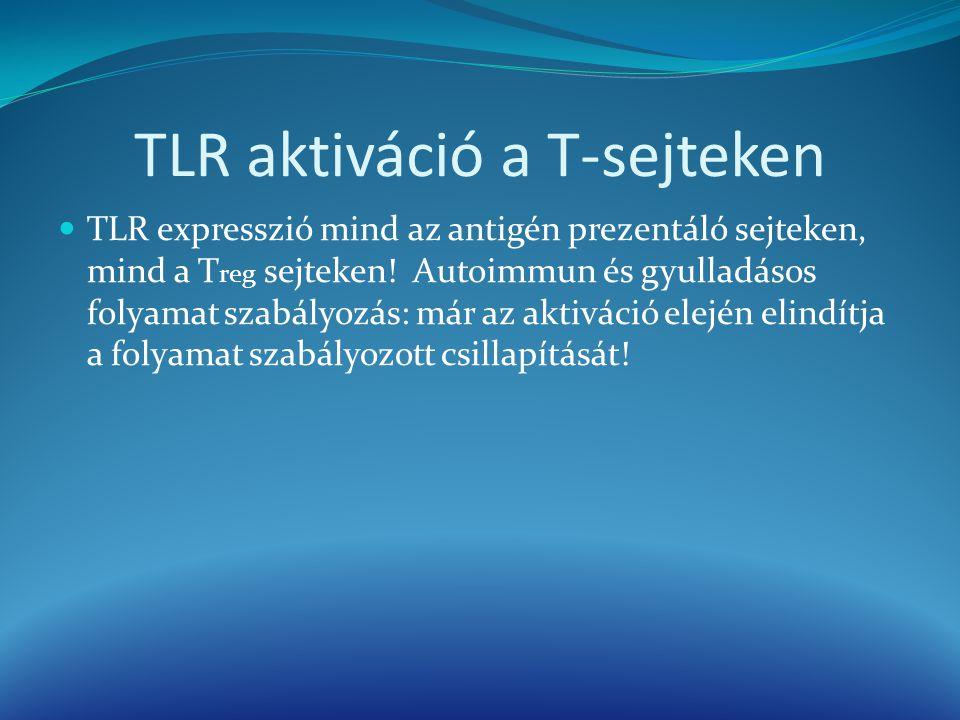 TLR aktiváció a T-sejteken