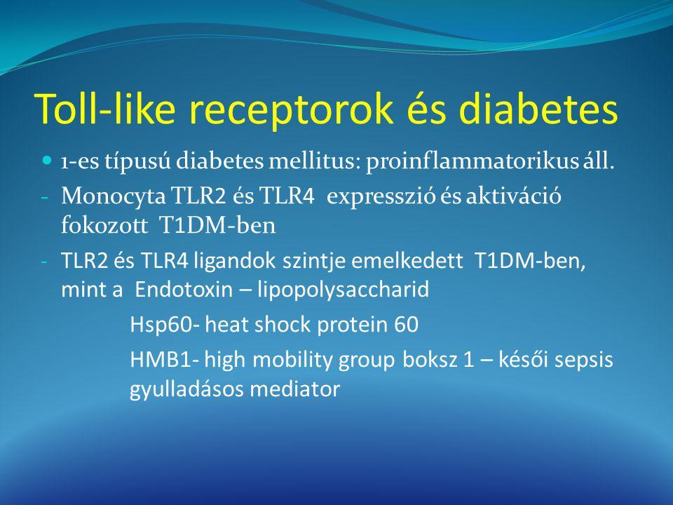 Toll-like receptorok és diabetes
