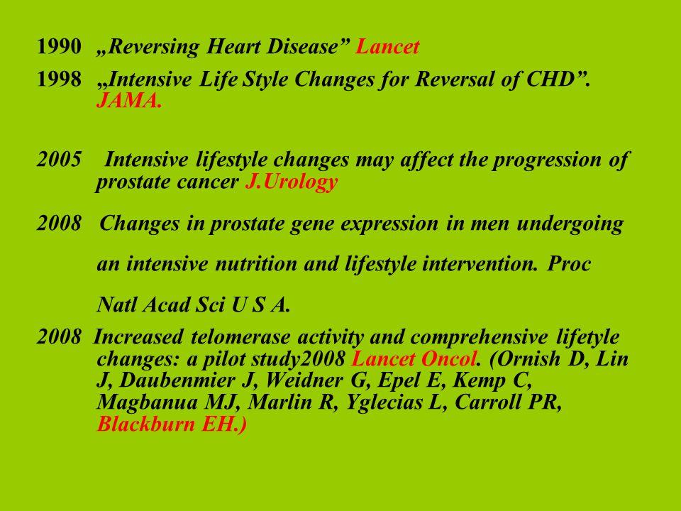 "1990 ""Reversing Heart Disease Lancet"