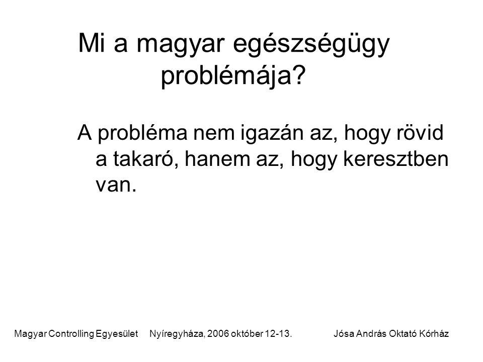Mi a magyar egészségügy problémája