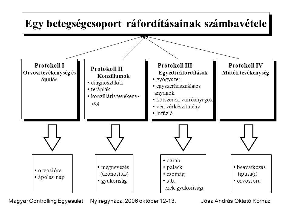 Egy betegségcsoport ráfordításainak számbavétele