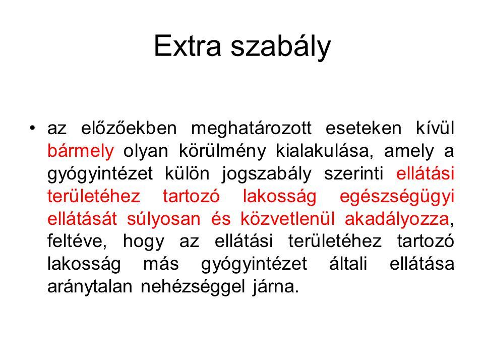 Extra szabály