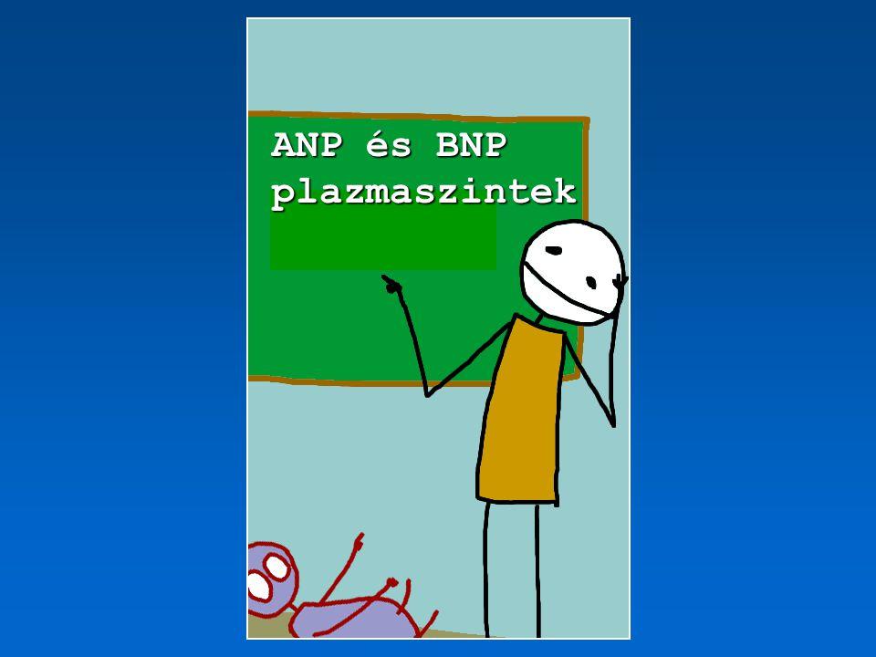 ANP és BNP plazmaszintek