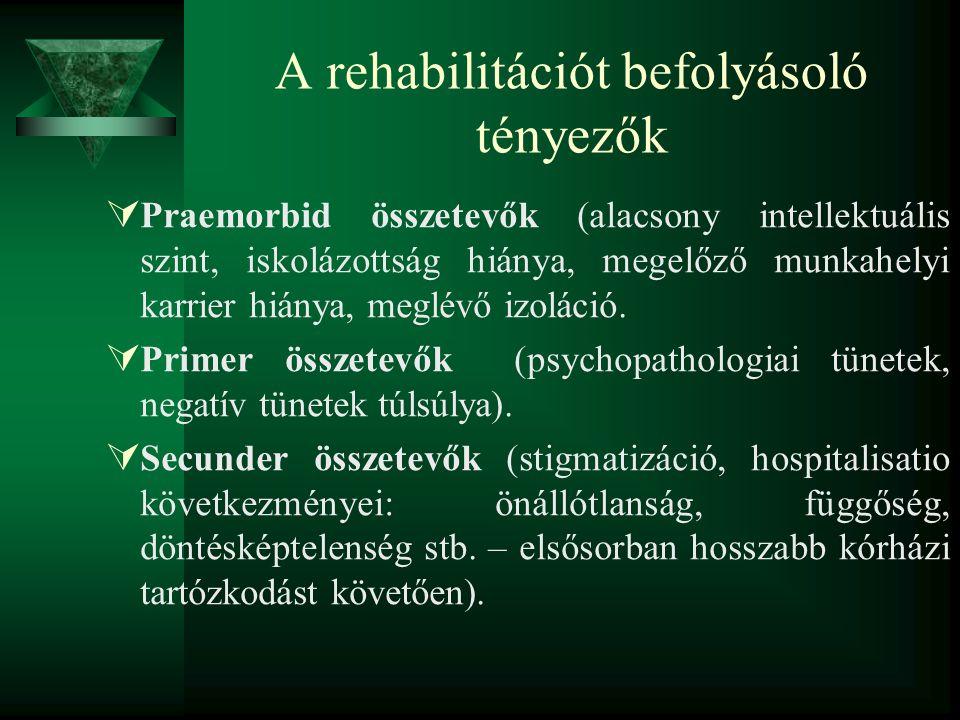 A rehabilitációt befolyásoló tényezők
