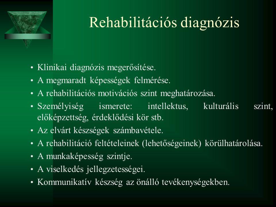 Rehabilitációs diagnózis
